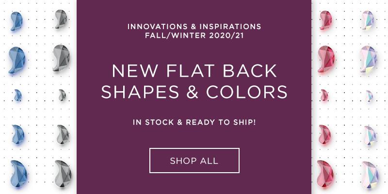 Flat Back Shapes & Colors