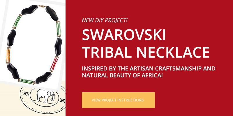 DIY Swarovski Project - Tribal Necklace