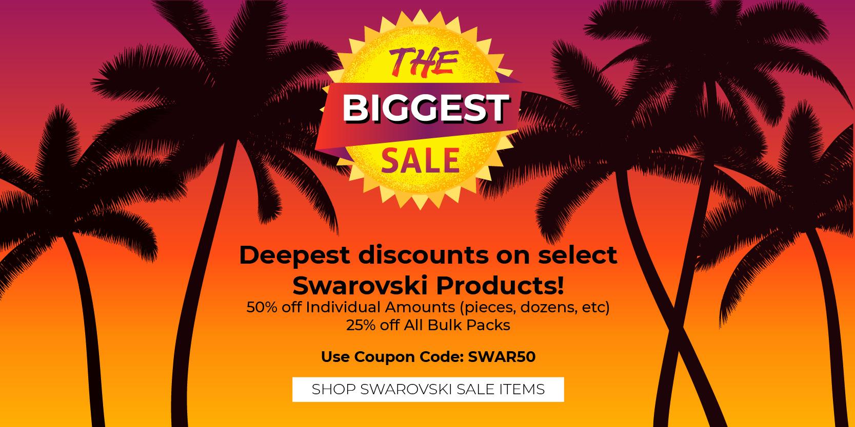 Swarovski - Biggest Sale