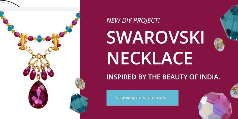 DIY Swarovski Project - India Necklace