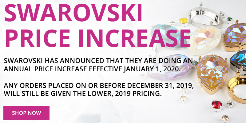 Swarovski Price Increase Announcement