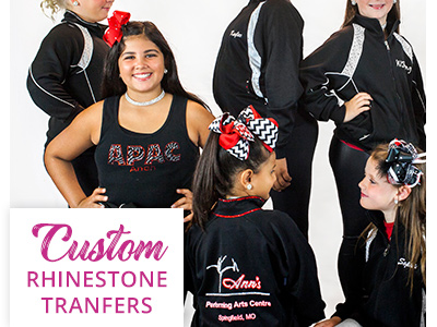 Custom Rhinestone Transfers