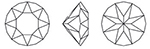 Swarovski-1088 Xirius Pointed Back Crystals