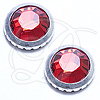 Swarovski 2029 Hot Fix Ringed Rhinestones