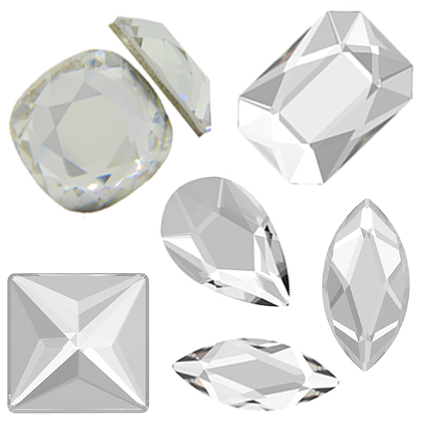 Swarovski Jewel Cut Flat Backs