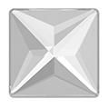 Swarovski - 2404 Square Flat Back