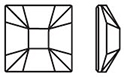 Swarovski 2483 Classic Squares Hot Fix