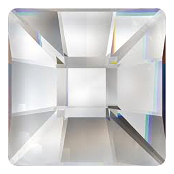 Swarovski - 2485 Classic Square (High) Flat Back
