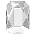 Swarovski 2602 Emerald Cut Flat Back
