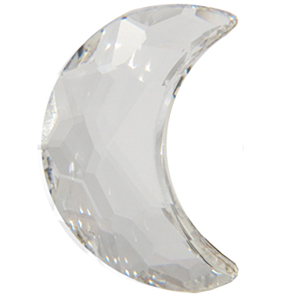 Swarovski 2813 Crescent Moon Flat Back Crystal