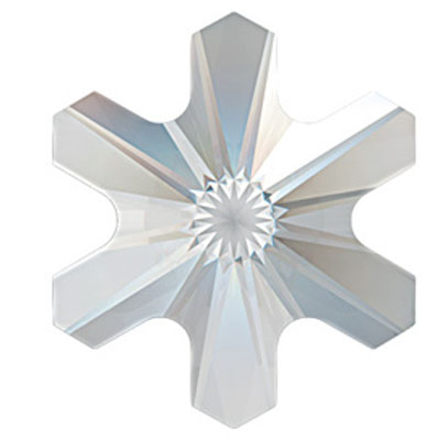 Swarovski 2826 Rivoli Snowflake Crystals