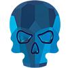 Swarovski 2856 Skull Hotfix Rhinestone