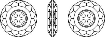 Swarovski 3008 Classic Button