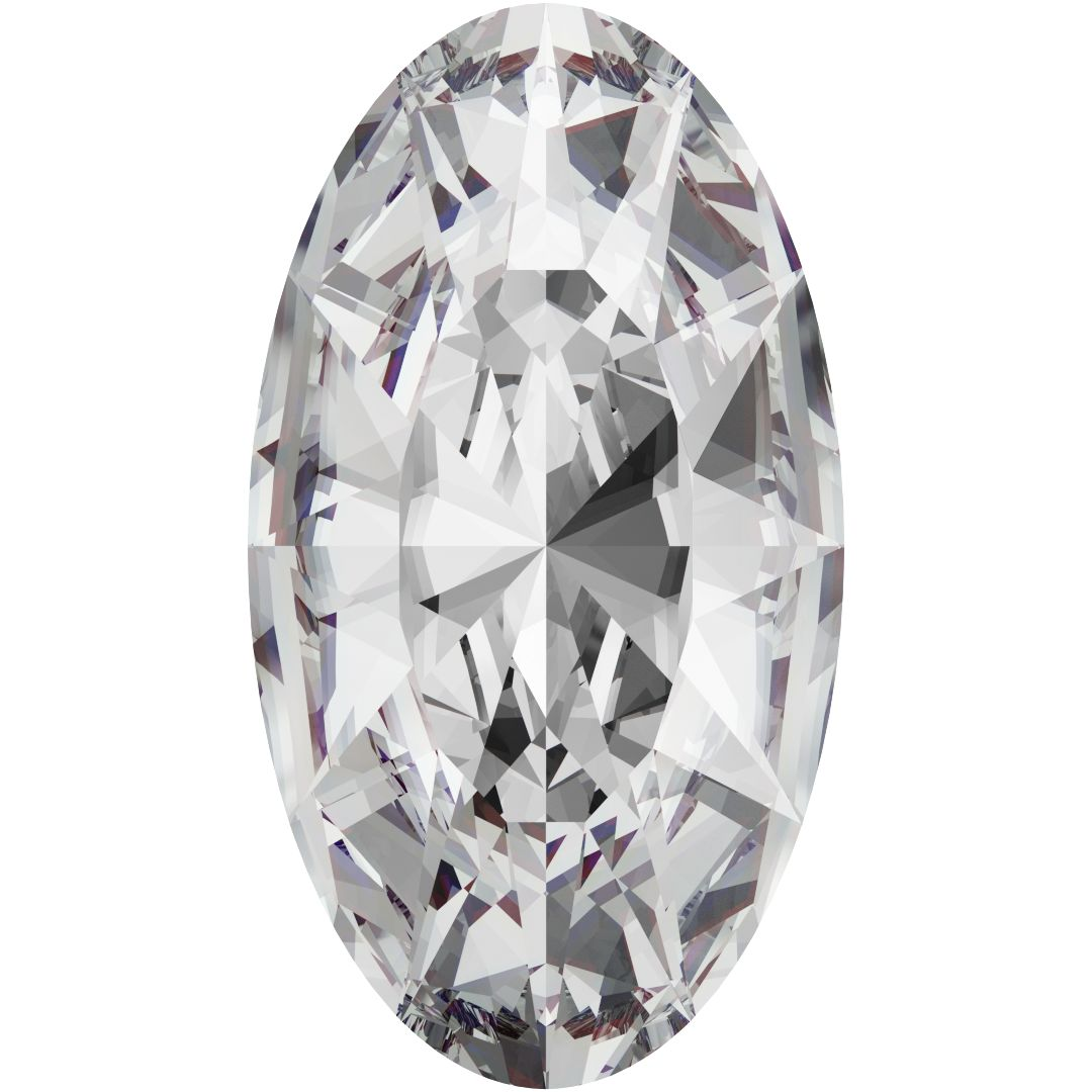 Swarovski 4162 Elongated Oval Fancy Stone