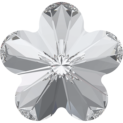 Swarovski 4744 Rivoli Flower Fancy Stone