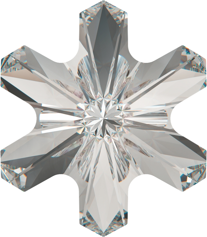 Swarovski 4747 Rivoli Snowflake Fancy Stone