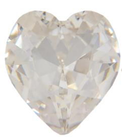Swarovski 4813/3 Table Cut (Pressed) Heart Rhinestones