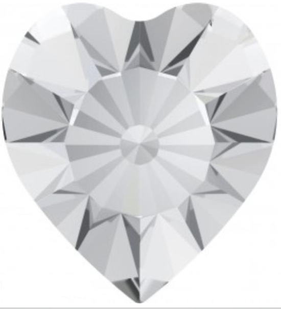 Swarovski 4835 Mini Heart Rhinestones