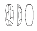 Swarovski 4855 Organic Oval Fancy Stone