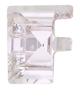 Swarovski 4889 Letter Fancy Stones