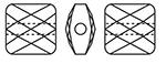 Swarovski-5053 Mini Square Beads