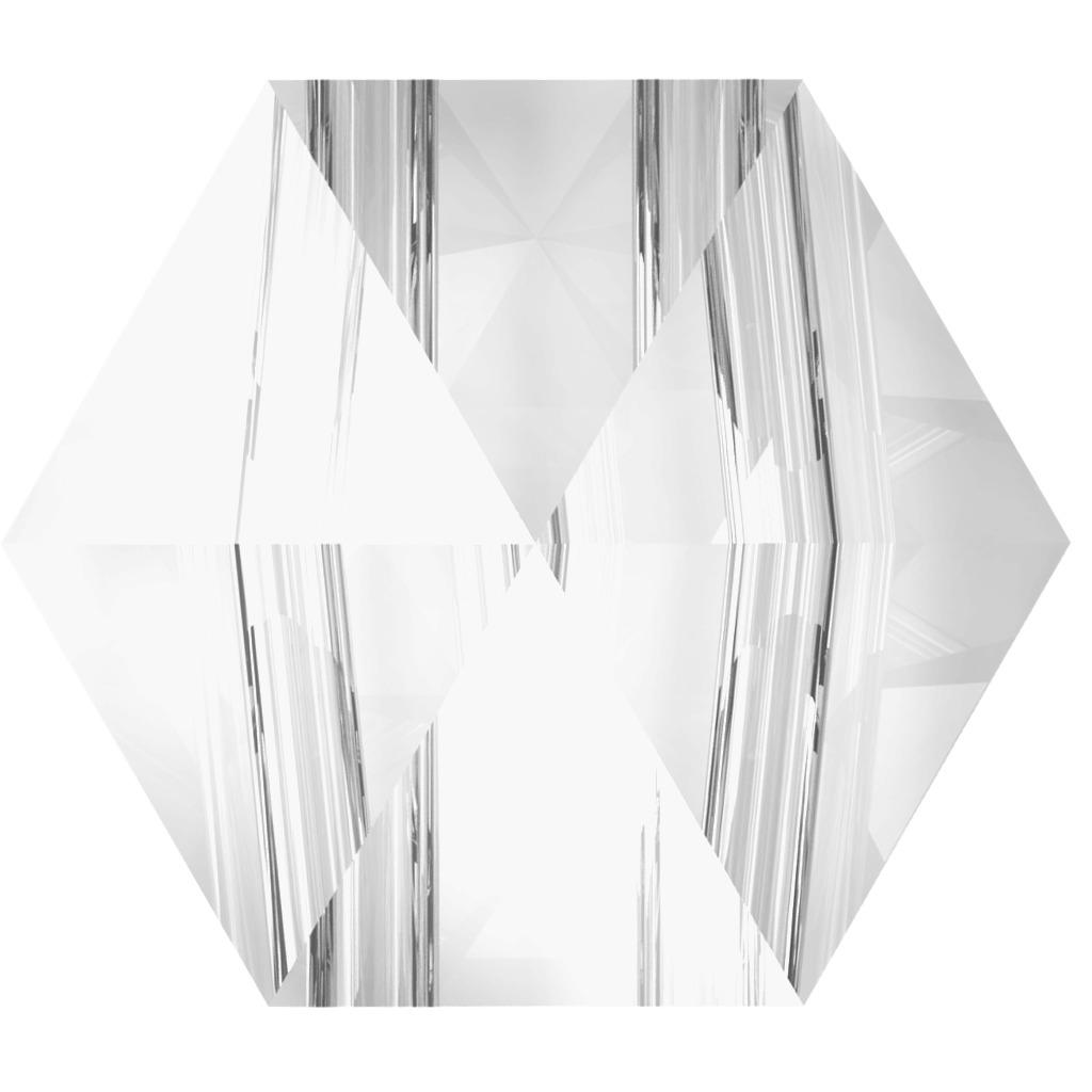 Swarovski 5060 Hexagon Spike Bead