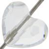 Swarovski 5741 Love Beads (Heart Shaped) 8mm Crystal