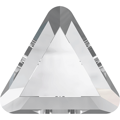 Swarovski - 2711 Triangle Flat Back Crystal