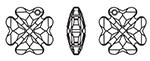 Swarovski 6764 Clover Pendant