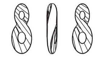 Swarovski 6792 Infinity Pendant