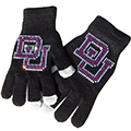 Gloves with Custom Rhinestone Transfer