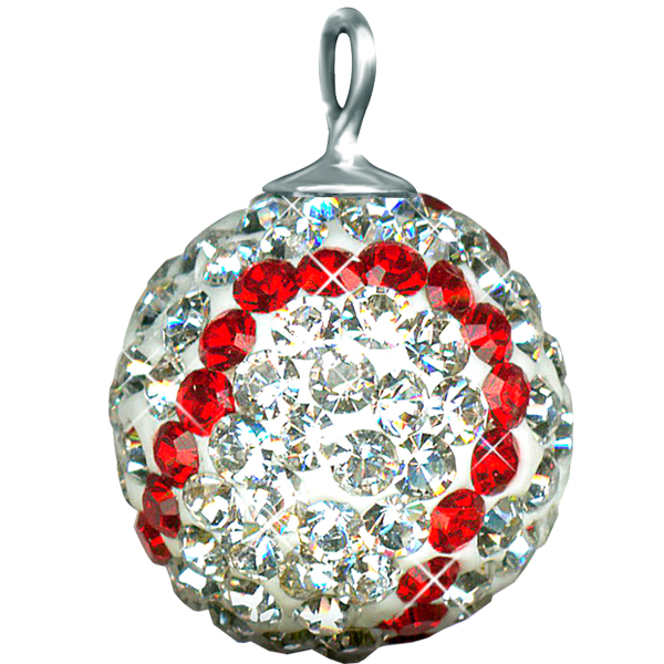 Game Time Bling - Shop Round Pave Balls with Loops