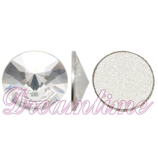 Swarovski 2006 Rivoli Flat Back Crystal 14mm