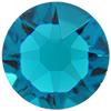 Swarovski 4510 Baguette Double Cut Fancy Stone Blue Zircon Unfoiled 12x10mm