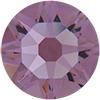 Swarovski 4510 Baguette Double Cut Fancy Stone Light Amethyst (Gold Foil) 7x5mm