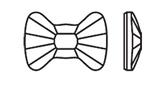 Swarovski 2858 Bow Tie Hotfix Crystal 12x8.5mm