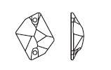 Swarovski 3265 Cosmic Sew-on Crystal 26x21mm