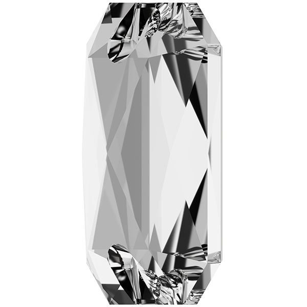 Swarovski 3252 Emerald Cut Sew-on Stone Crystal 14x10mm