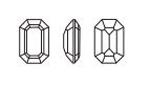 Swarovski 4610 Rectangle Octagon Fancy Stone Crystal 20x15mm