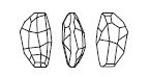 Swarovski 4760 Calypso Fancy Stone Crystal 14x8mm