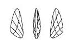 Swarovski 4790 Wing Fancy Stone Crystal 32x13.5mm