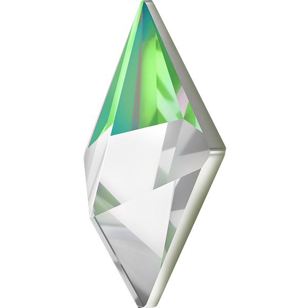 Swarovski 4929 Tilted Spike Fancy Stone Crystal Vitrail Medium 24x17mm
