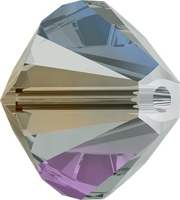 Swarovski Crystals 5328 Swarovski® Crystal Bicone Beads Black Diamond AB 2X Swarovski Crystal & Cut Glass Craft Beads