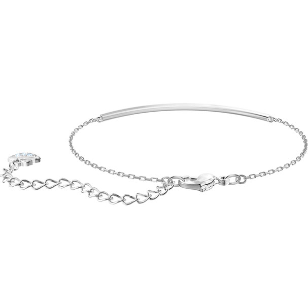 Swarovski Collection Only Bracelet White Rhodium Plating