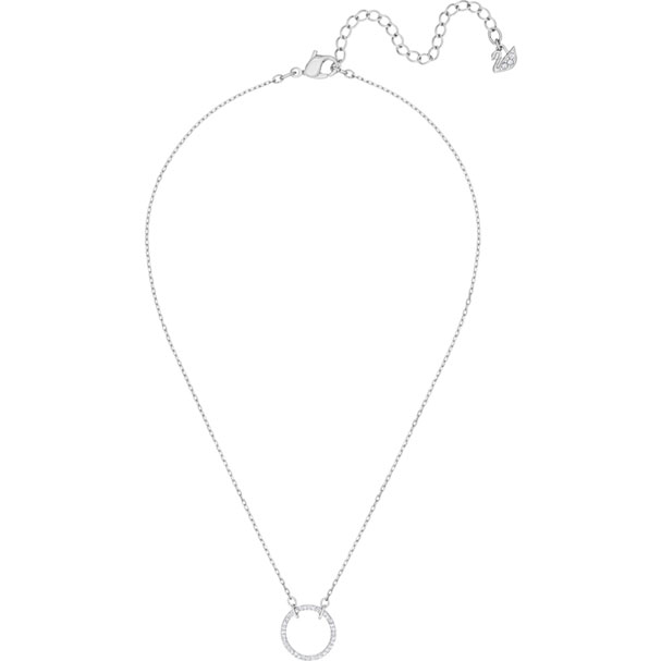 Swarovski Collection Only Necklace White Rhodium plating