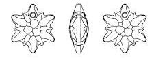 Swarovski 6748 Edelweiss Pendant Crystal 18mm