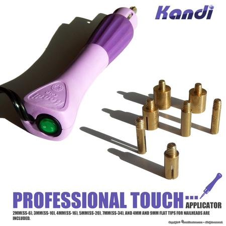 Kandi Professional Touch Hot Fix Applicator