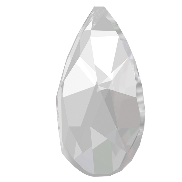 Swarovski 2303 Pear Shaped Flat Back Crystal 14x9mm