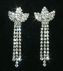 "2"" Rhinestone Crown Dangle"