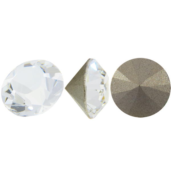 Swarovski 1028 XILION Chaton Crystal PP12